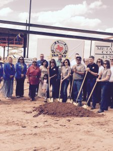Family Armory Ground Breaking Event May 2015.