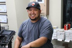 Family Armory & Indoor Range Employee: Michael Rivas