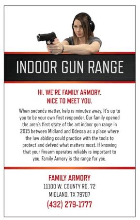 Family Armory Miniflyer