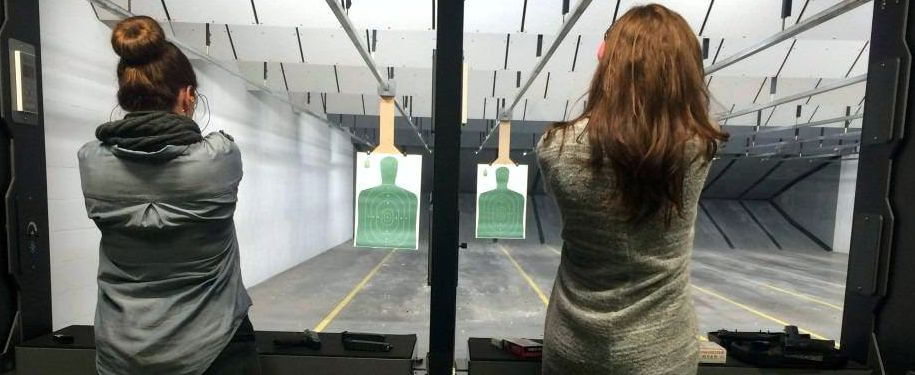 Female Shooters at Family Armory