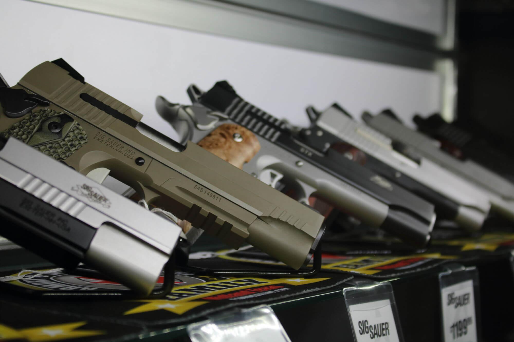 Retail Sig Sauer 1911 Pistols