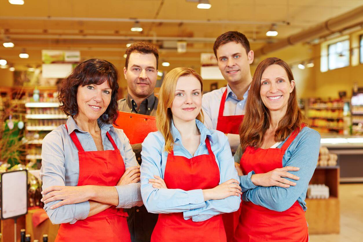 Grocery Store - Retail customer indoor gun range corporate membership