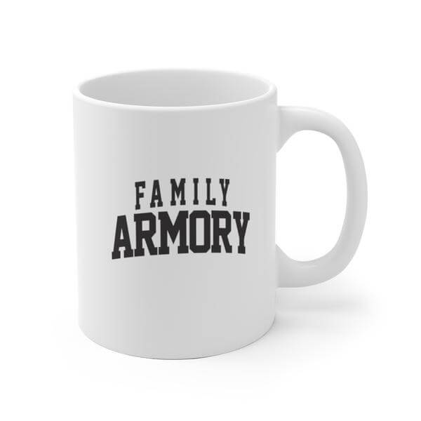 Family Armory Content Supporter Coffee Mug