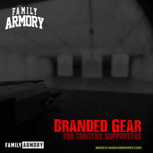 FAMILY ARMORY BRANDED GEAR FOR PERMIAN BASIN TEXAS GUN RANGE SUPPORTERS