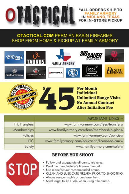 Family Armory Information Card Back