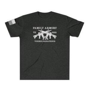 Family Armory Range Member T-Shirt