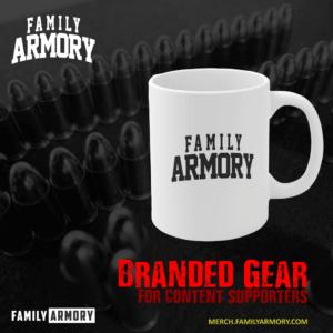 FAMILY ARMORY ODESSA-MIDLAND TEXAS GUN RANGE COFFEE MUG